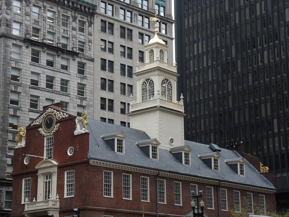 The Old State House in historic Boston, MA.